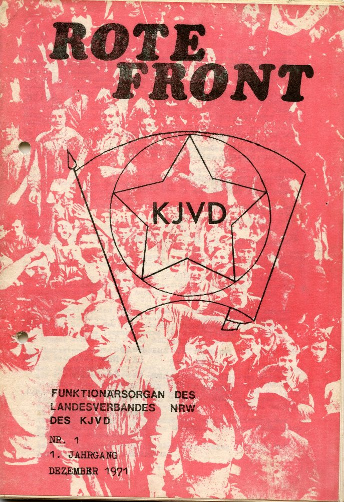 KJVD_Rote_Front_1971_01