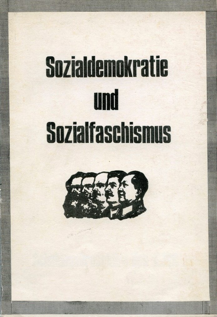 KJVD_Sozialdemokratie_Sozialfaschismus_1971_01