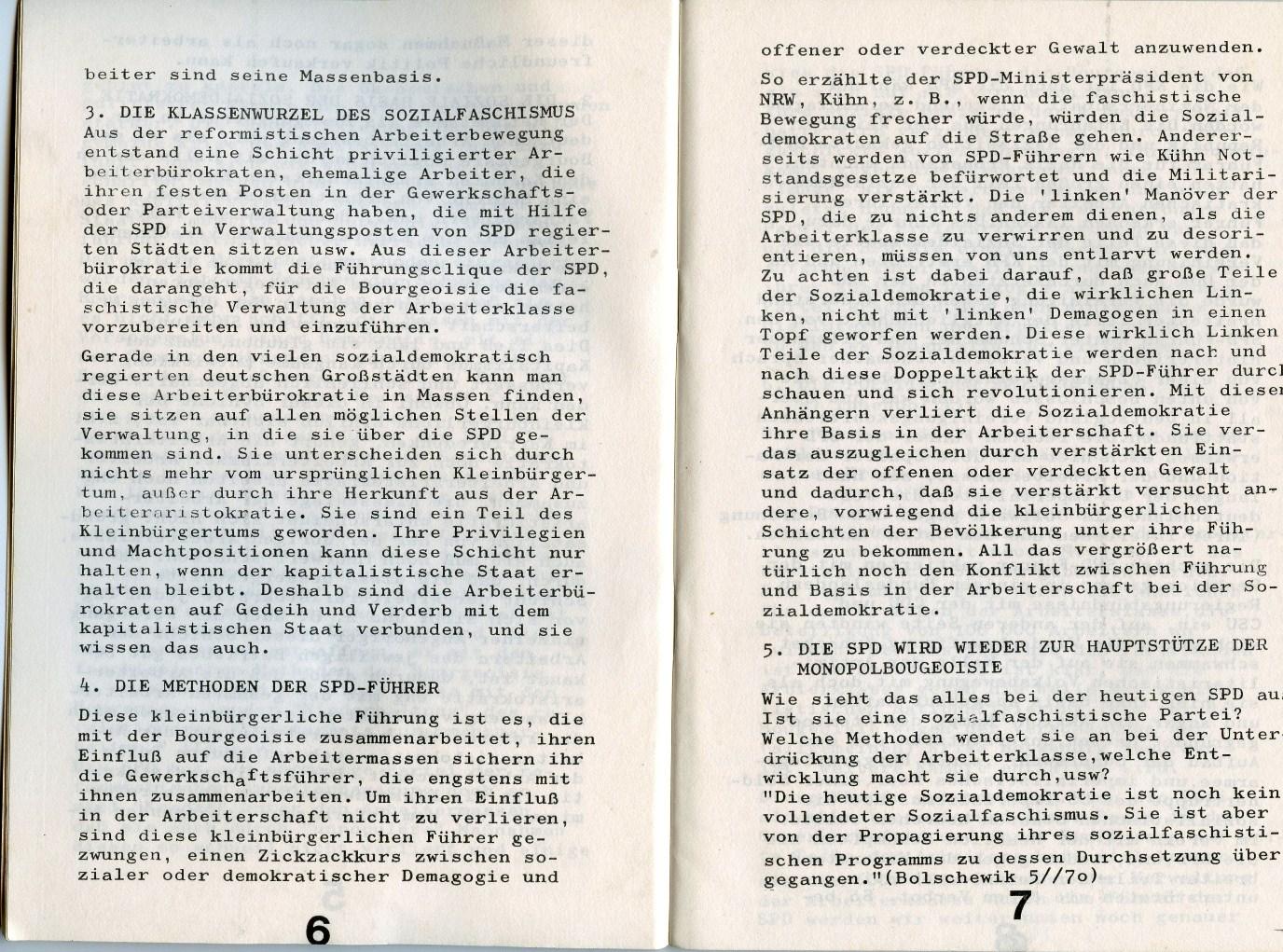 KJVD_Sozialdemokratie_Sozialfaschismus_1971_05
