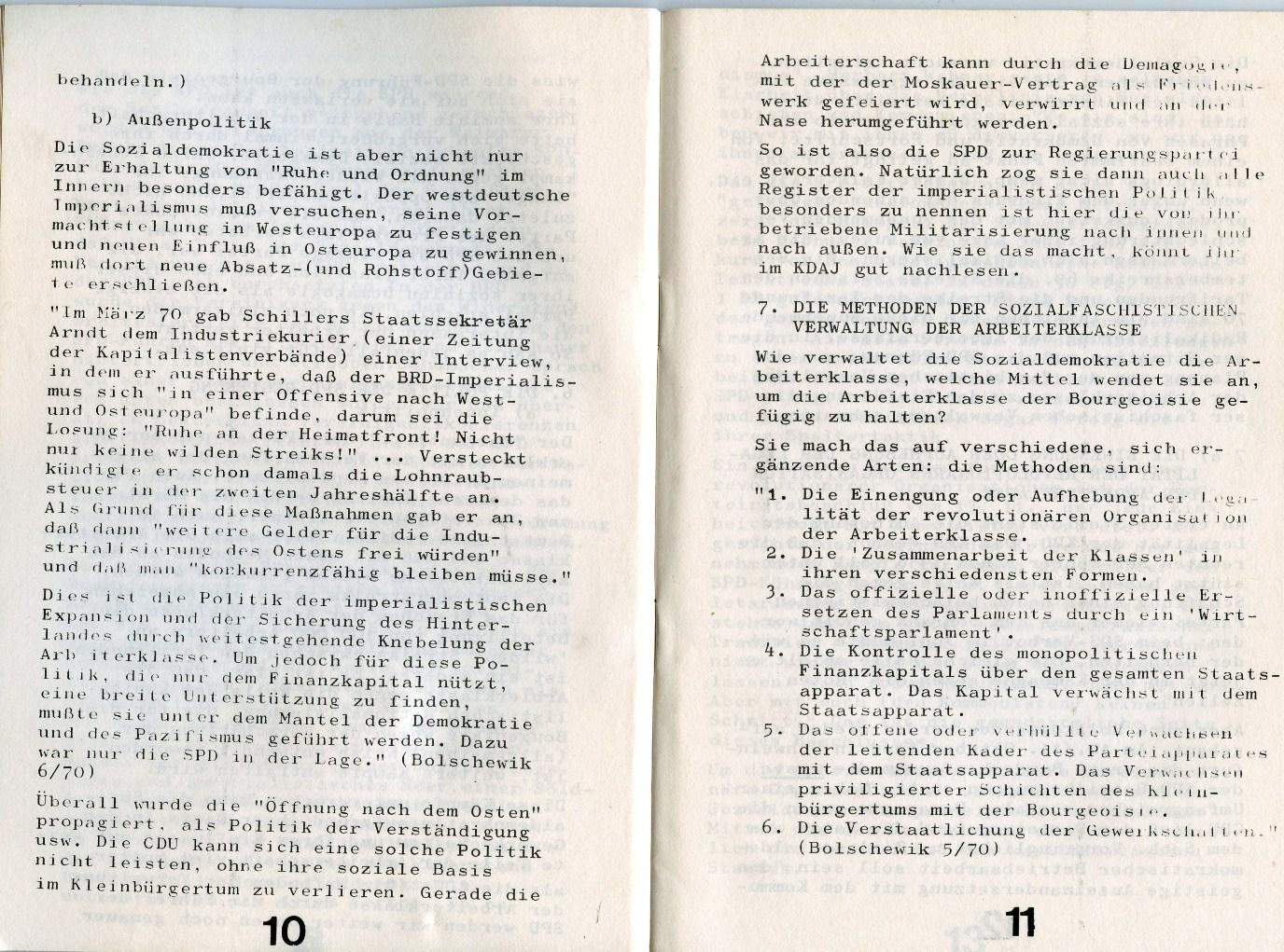 KJVD_Sozialdemokratie_Sozialfaschismus_1971_07
