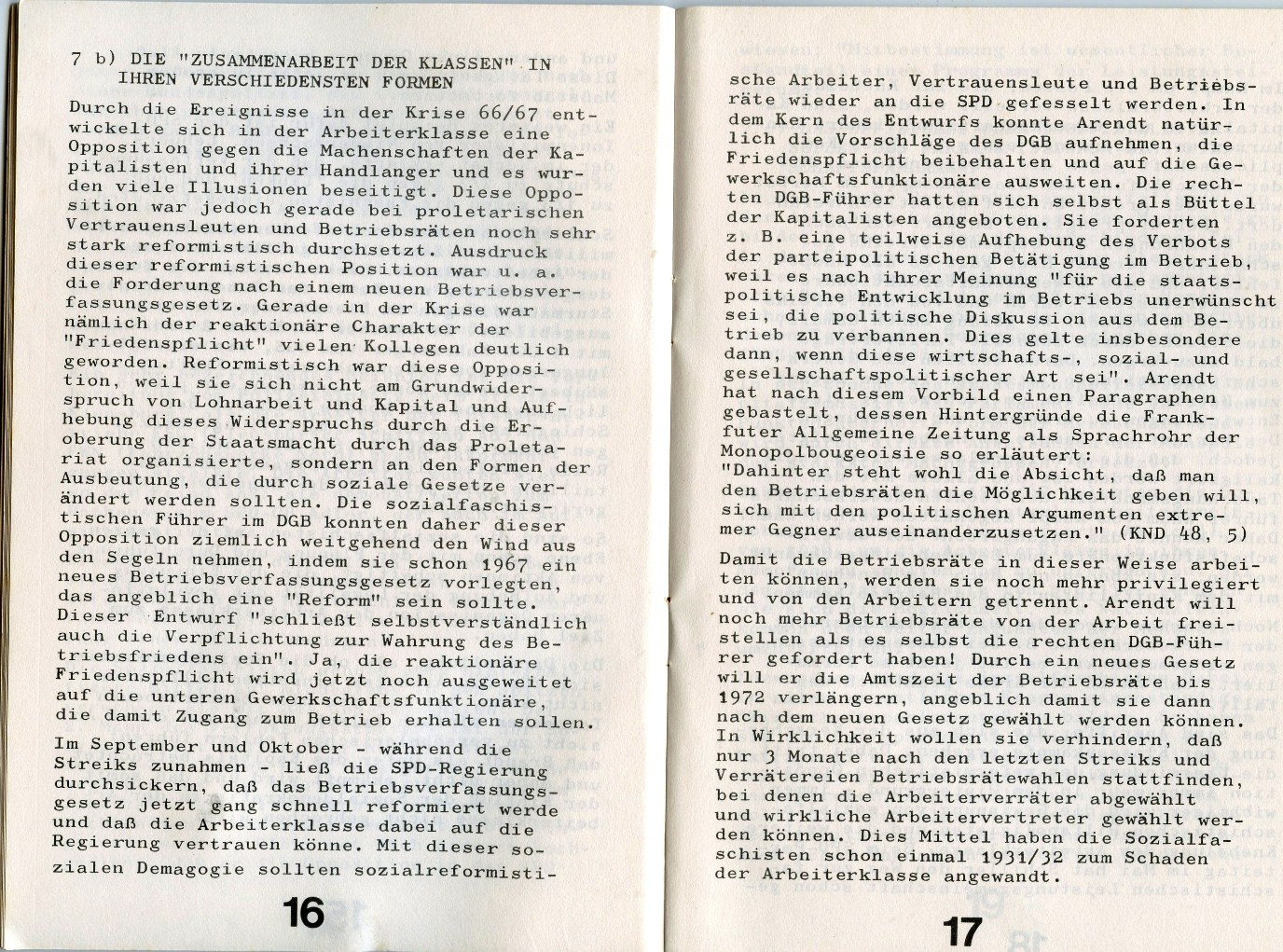 KJVD_Sozialdemokratie_Sozialfaschismus_1971_10