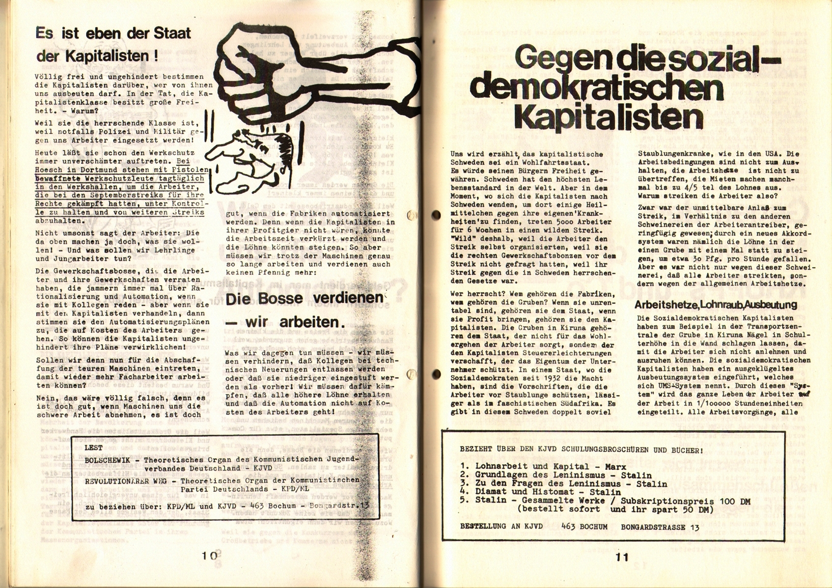 KDAJ, 1. Jg., April 1970, Nr. 1, Seite 10+11
