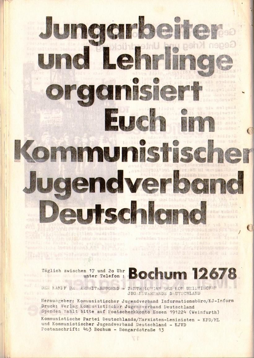 KDAJ, 1. Jg., April 1970, Nr. 1, Seite 18