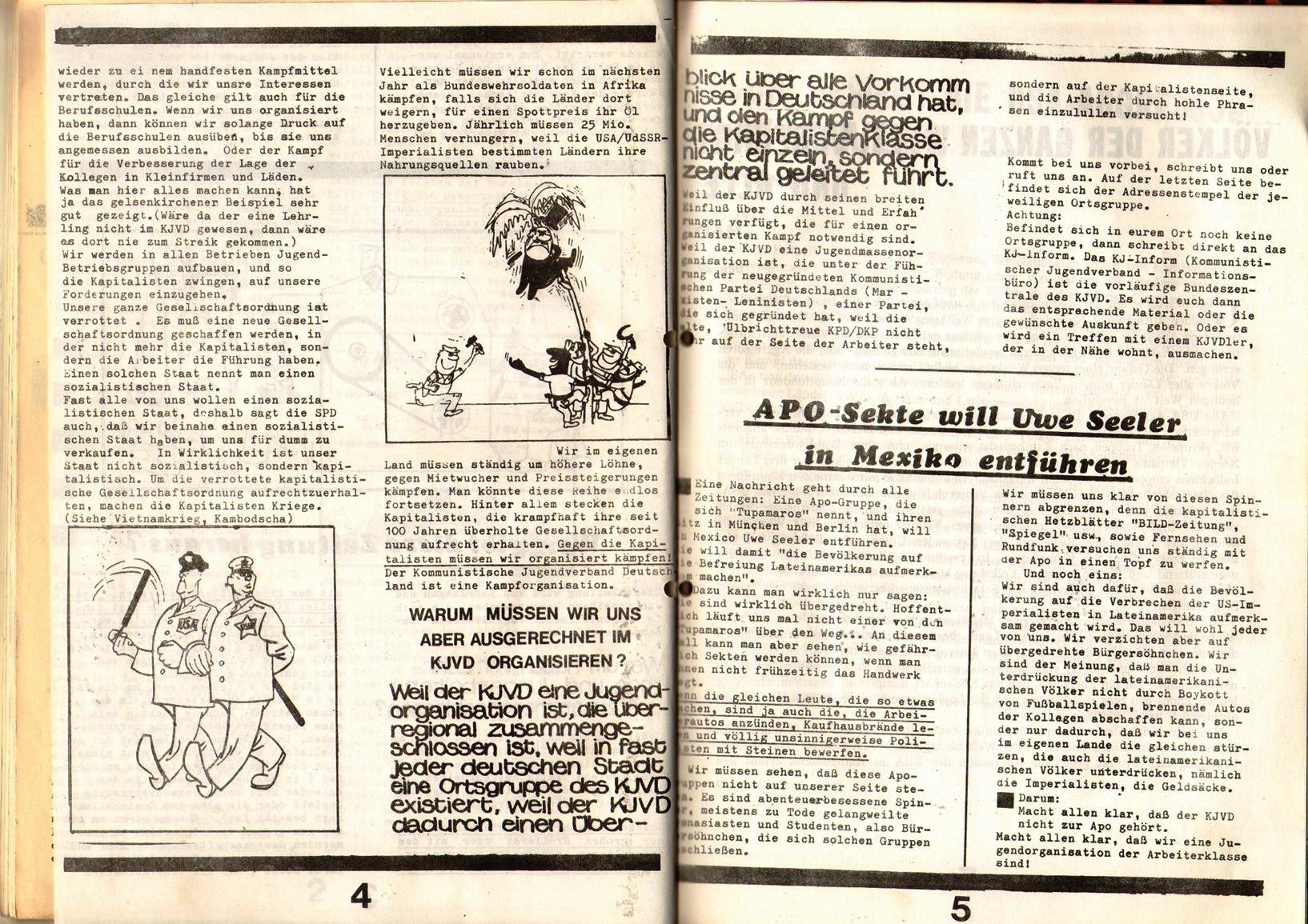 KDAJ, 1. Jg., 1970, Nr. 2, Seite 4+5