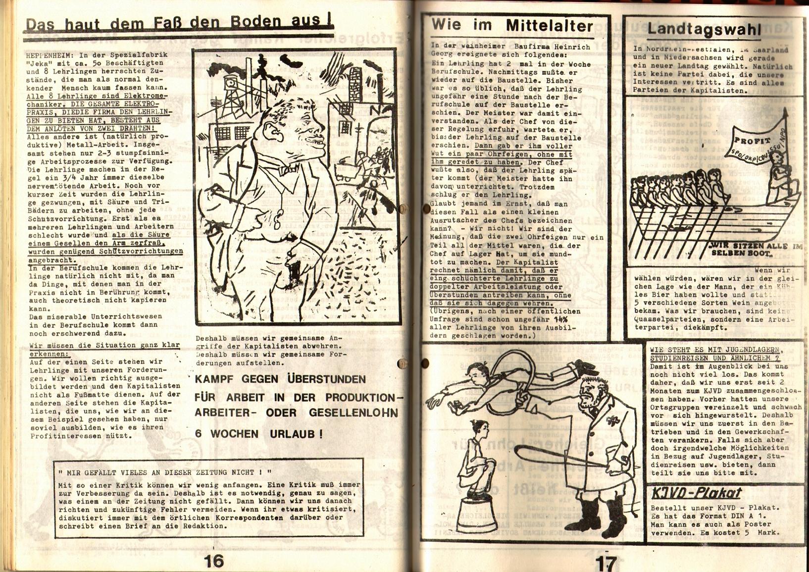KDAJ, 1. Jg., 1970, Nr. 2, Seite 16+17