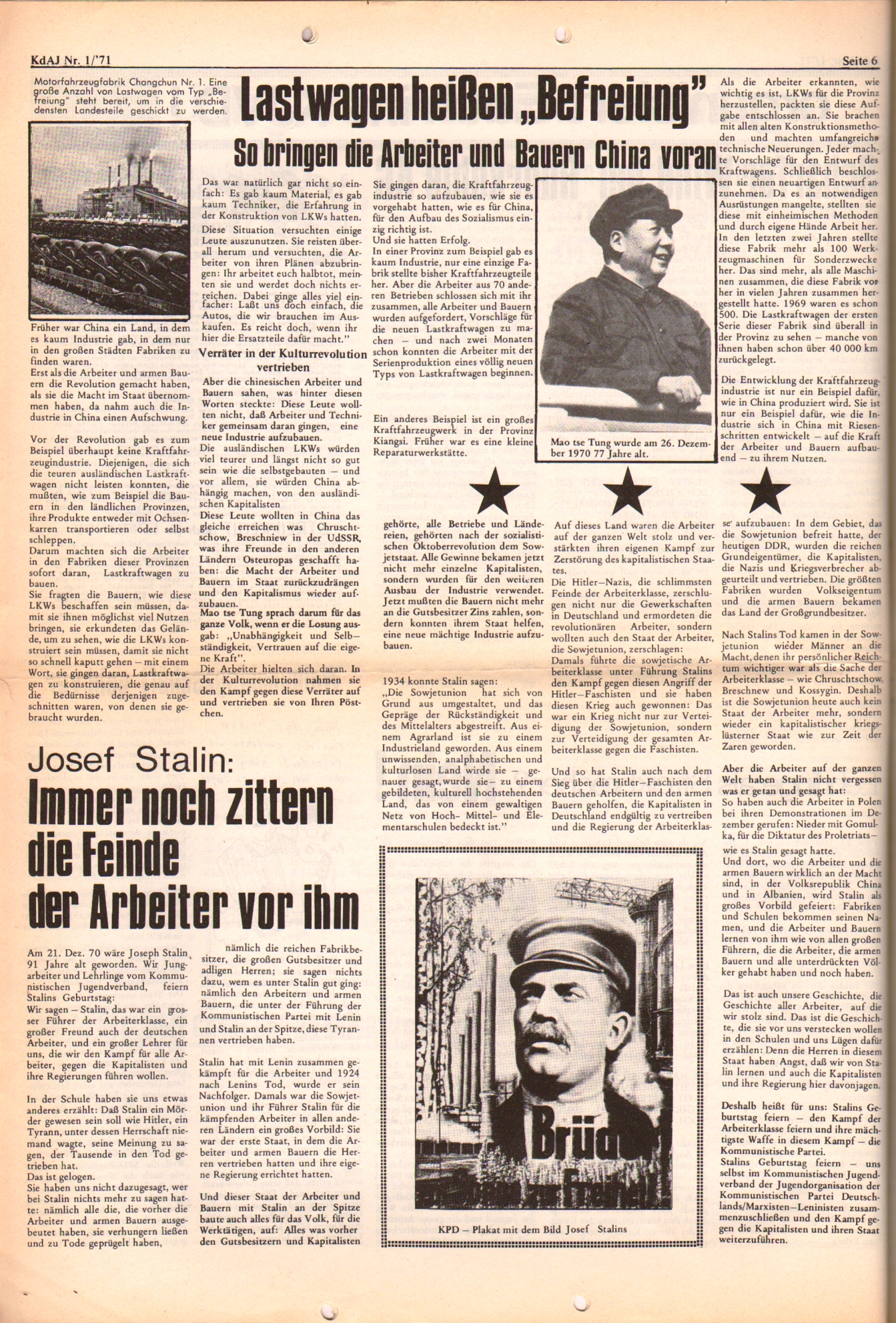 KDAJ, 2. Jg., Januar 1971, Nr. 1, Seite 6