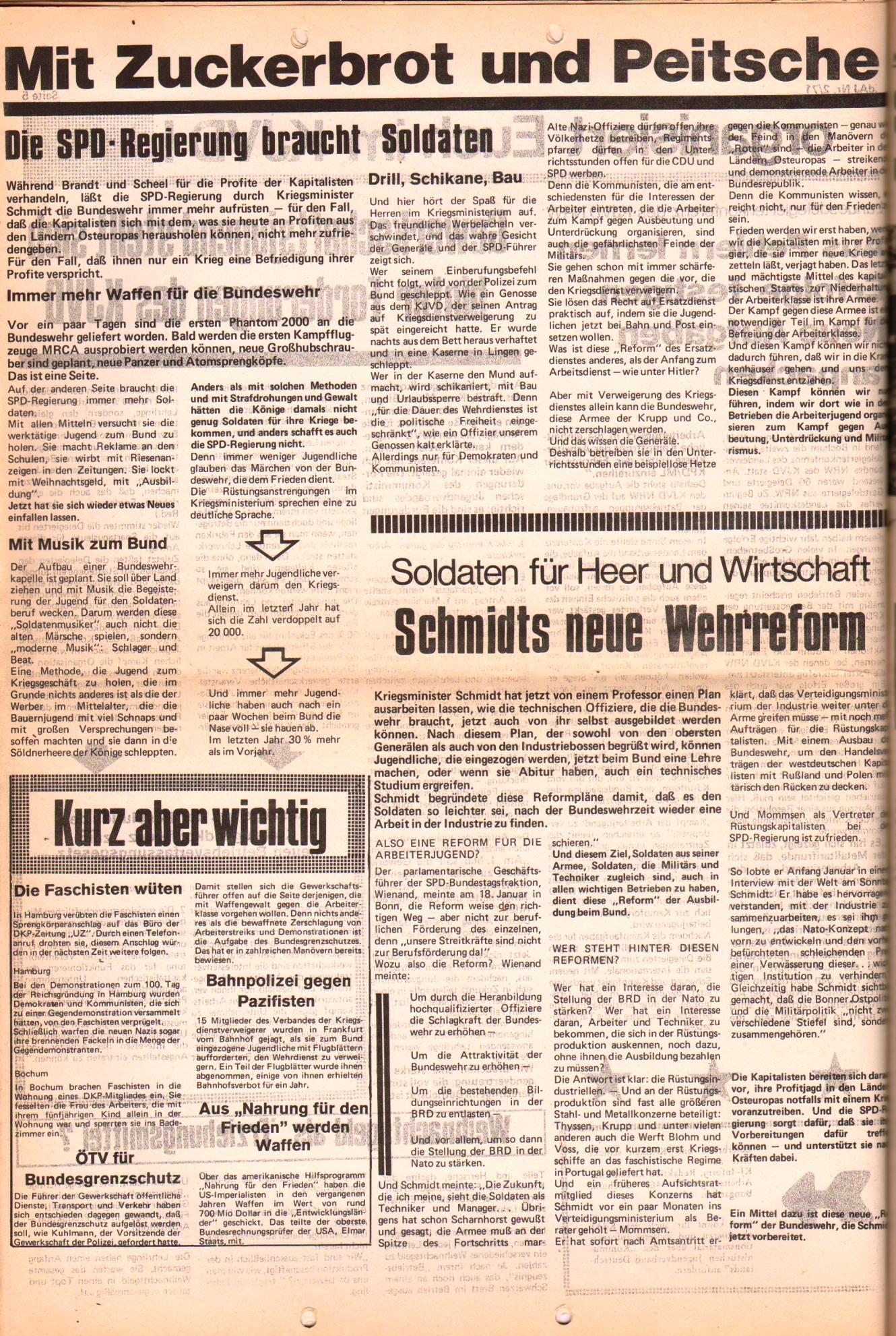 KDAJ, 2. Jg., Februar 1971, Nr. 2, Seite 6