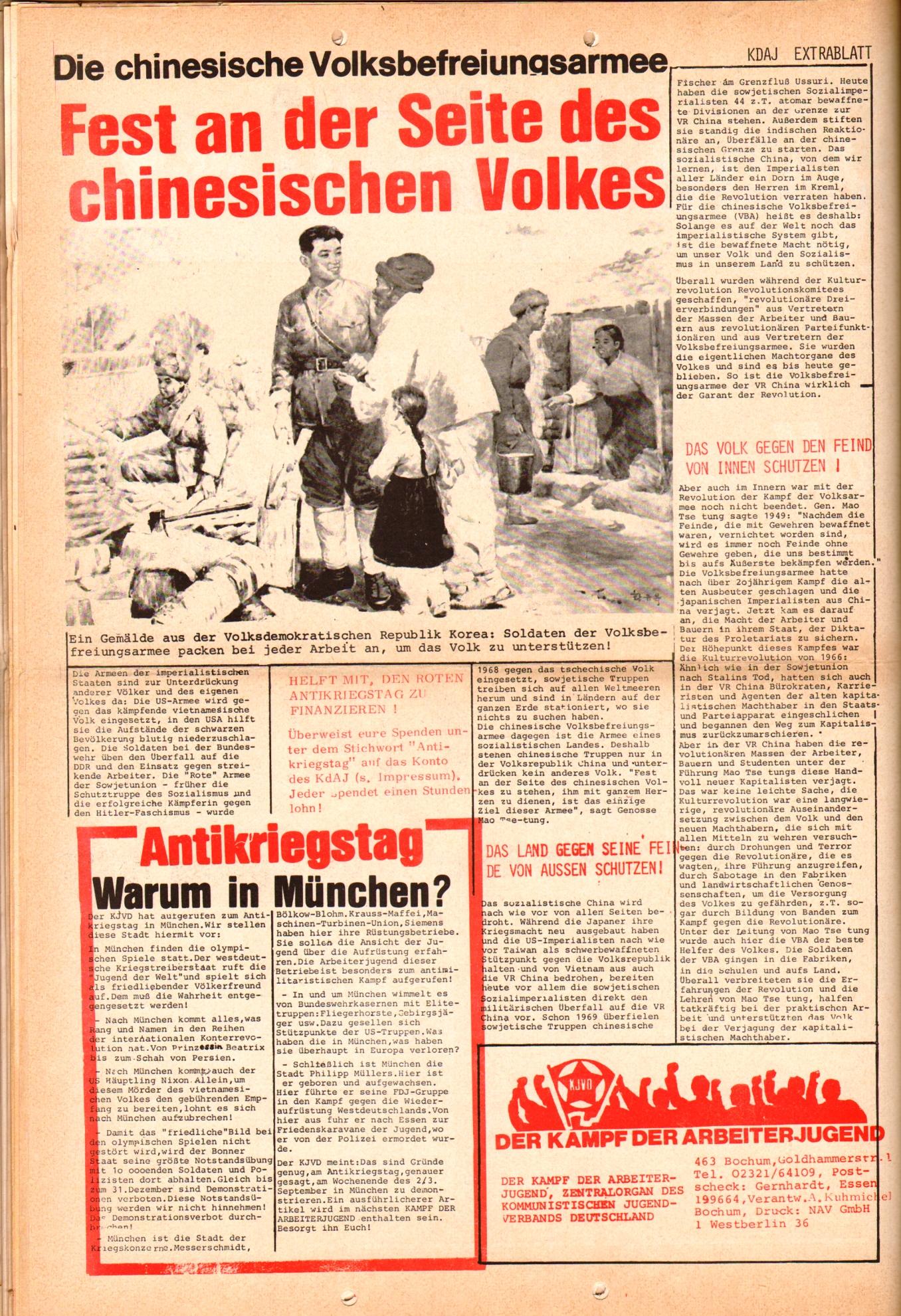 KDAJ, 3. Jg., Juli 1972, Extrablatt, Seite 4