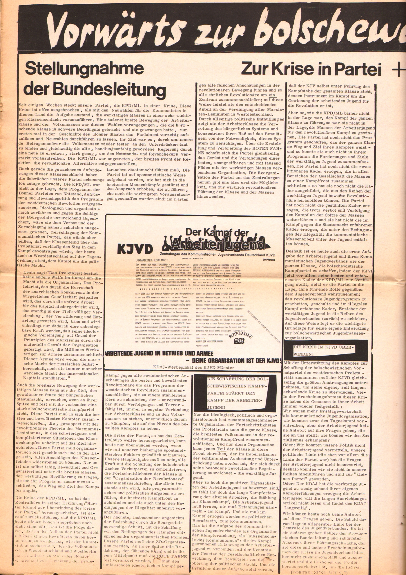 KDAJ, 3. Jg., Dezember 1972, Nr. 11, Seite 6