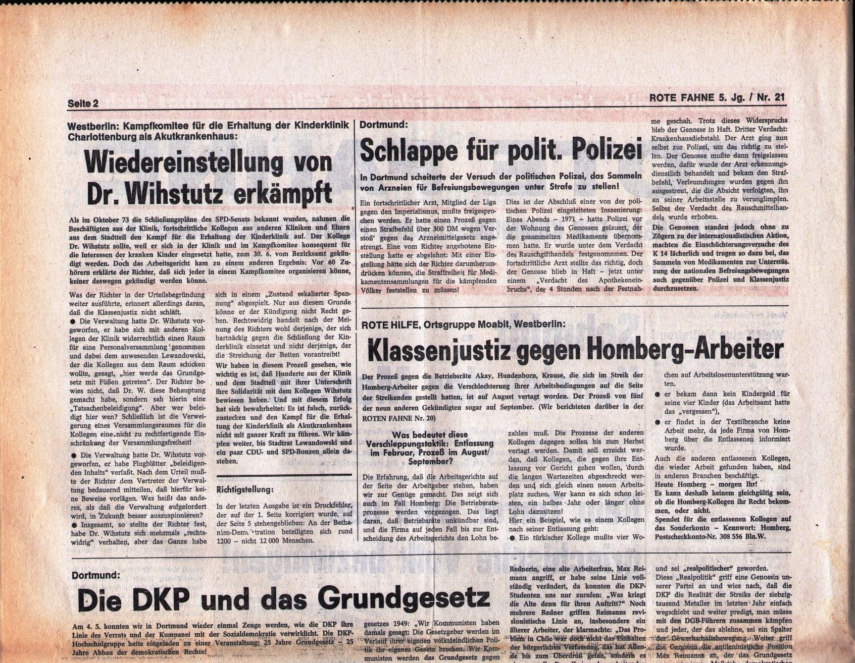 KPD_Rote_Fahne_1974_21_03