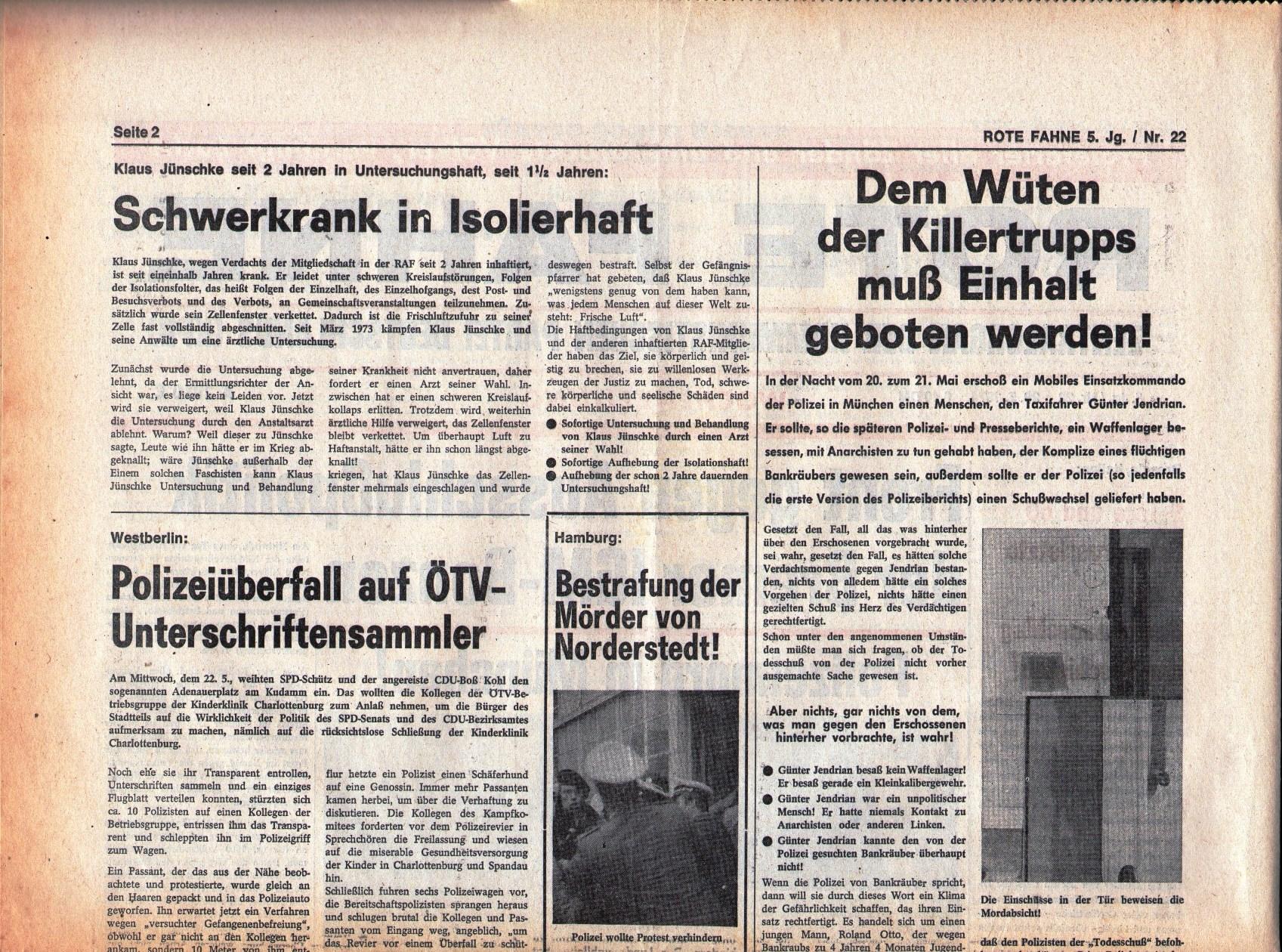 KPD_Rote_Fahne_1974_22_03