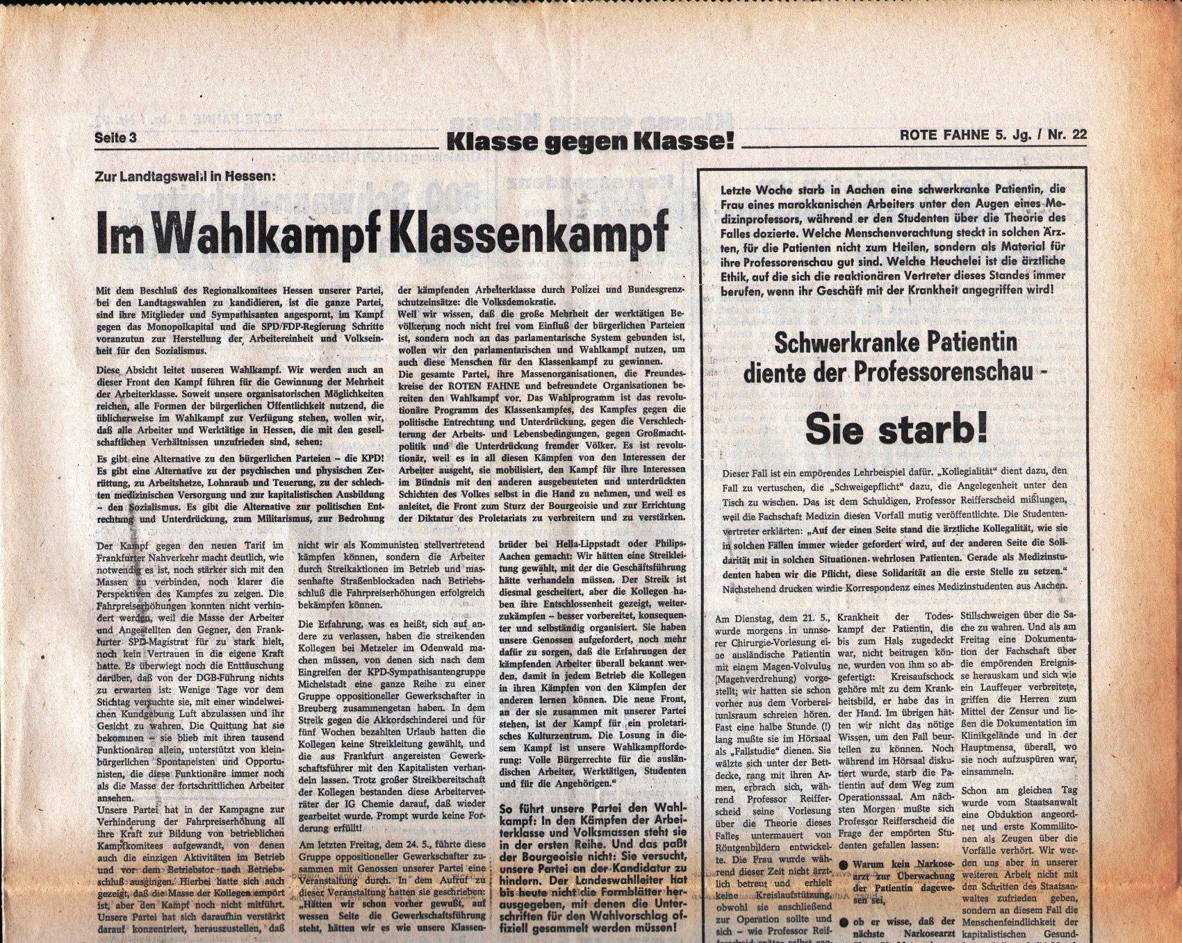 KPD_Rote_Fahne_1974_22_05