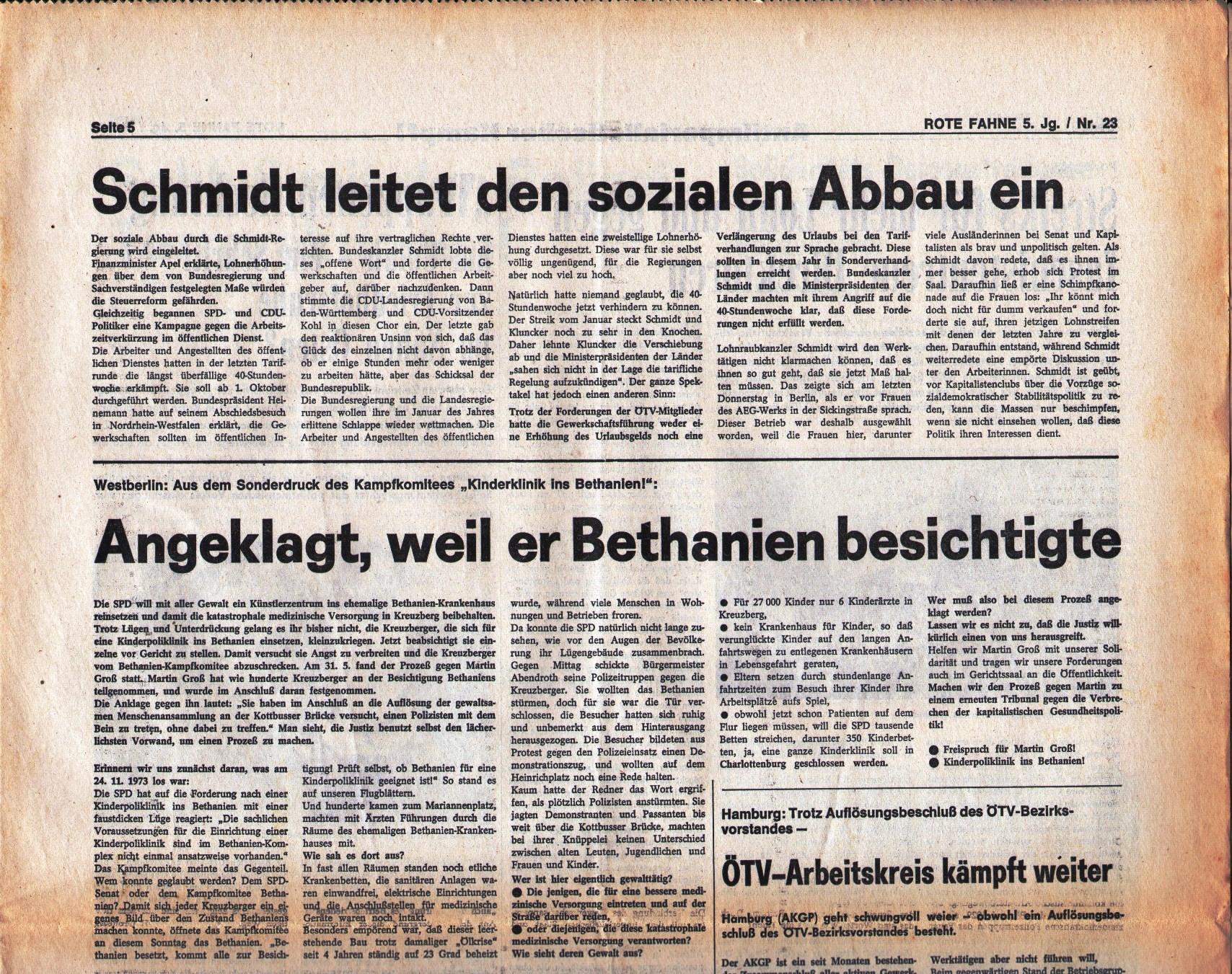 KPD_Rote_Fahne_1974_23_09