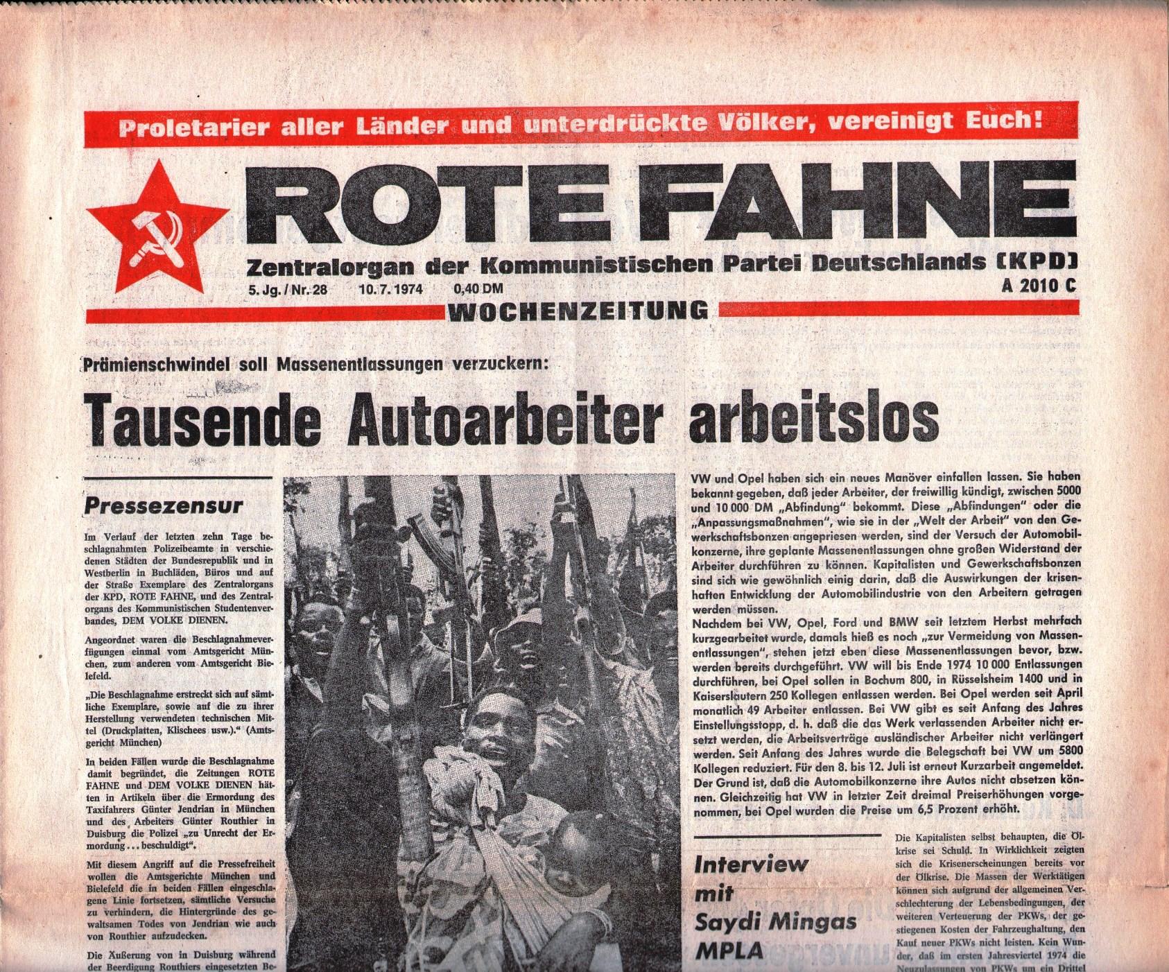 KPD_Rote_Fahne_1974_28_01
