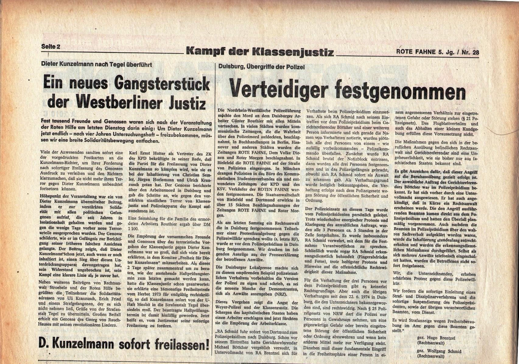 KPD_Rote_Fahne_1974_28_03