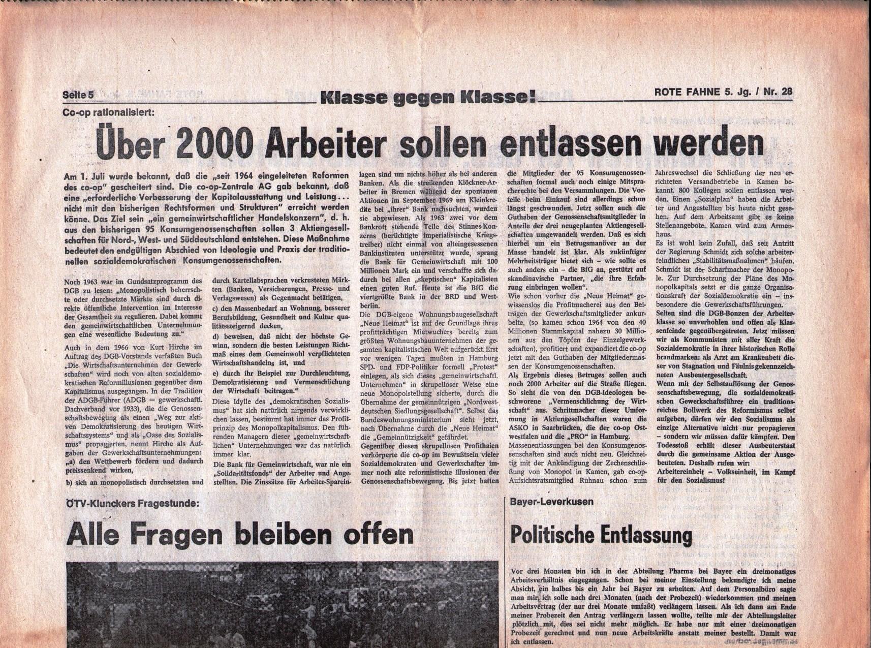 KPD_Rote_Fahne_1974_28_09