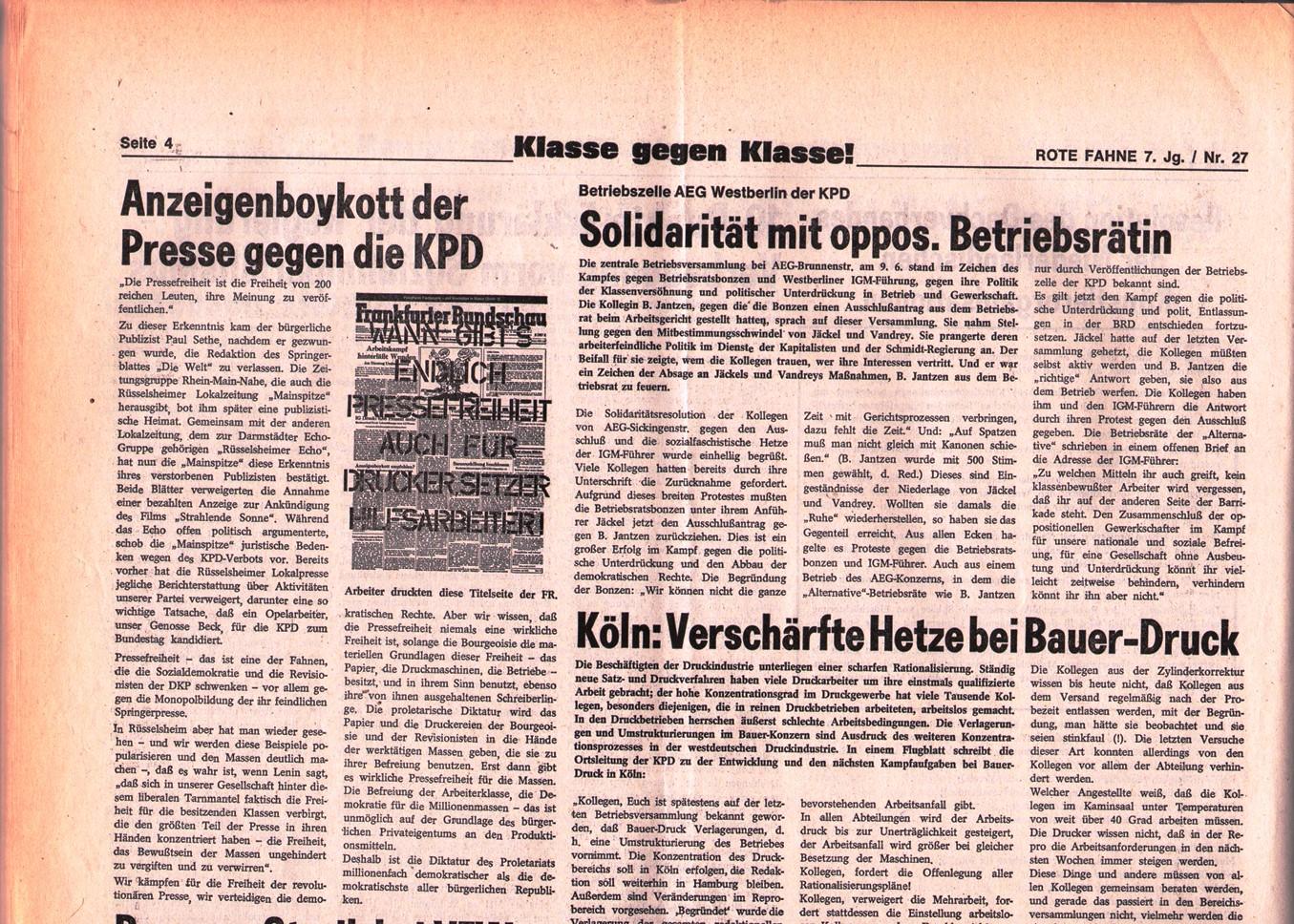 KPD_Rote_Fahne_1976_27_07