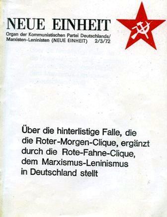 Neue Einheit, 2/3 (1972)
