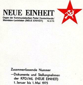 Neue Einheit, 2 (1975)