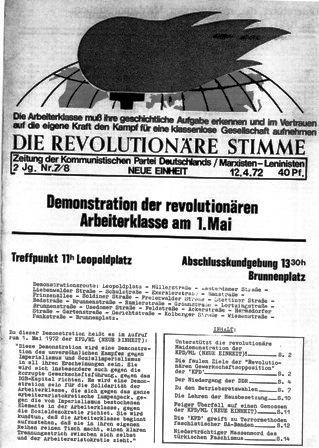 Die Revolutionäre Stimme, 7/8 (1972)