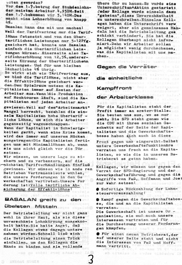 Roter Basalan_Arbeiter, Nr. 1, 1970, Seite 3