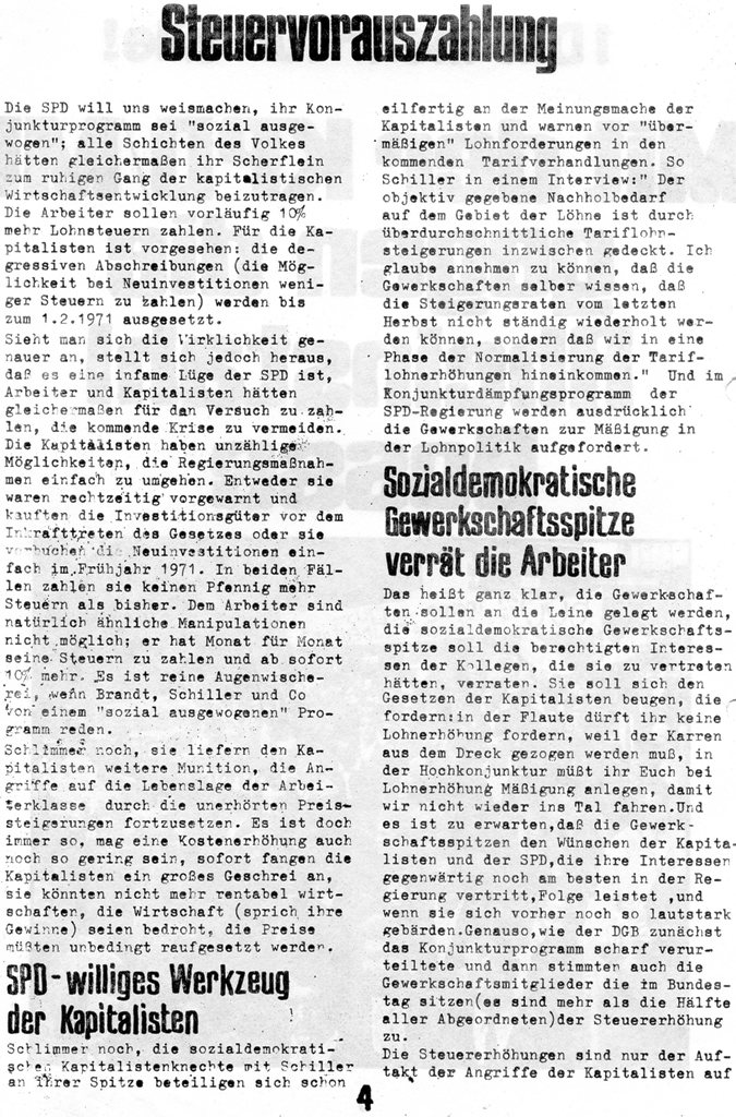Roter Guss_Stahl Arbeiter, Nr. 1, 1970, Seite 4