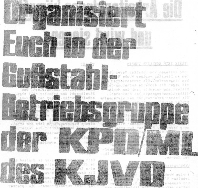 Roter Guss_Stahl Arbeiter, Nr. 1, 1970, Seite 10