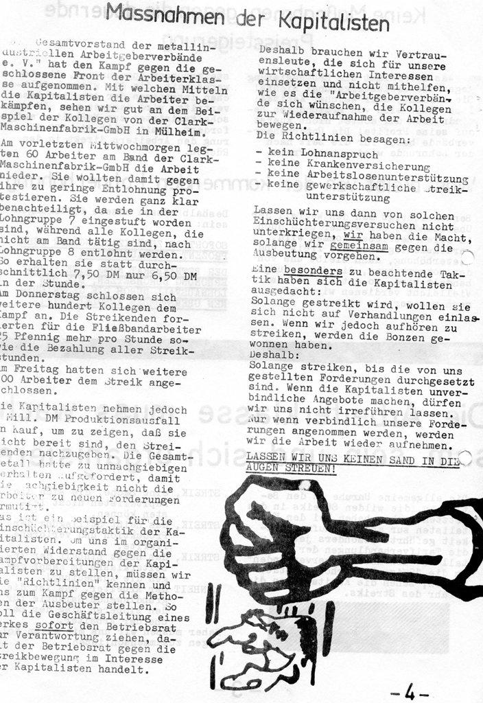 Roter Hütten_Arbeiter, Nr. 5, Sept. 1970, Seite 4