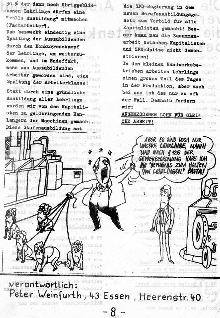 Roter Hütten_Arbeiter, Nr. 5, Sept. 1970, Seite 8