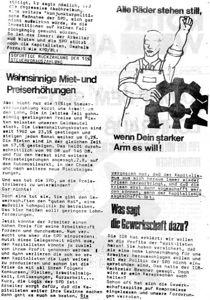 Der Rote W_Arbeiter, Nr. 7, August 1970, Seite 2