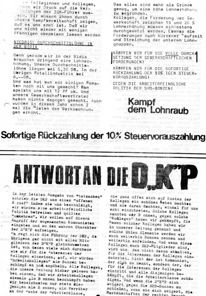 Der Rote W_Arbeiter, Nr. 7, August 1970, Seite 3