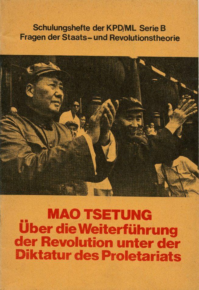 ZB_Mao_Revolutionstheorie_1971_01