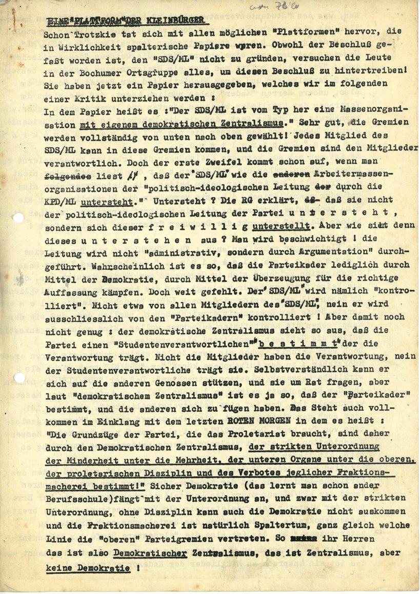 Bochum_KJVD_1970_Plattform_Kleinbuerger_01