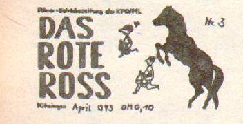 Das Rote Ross _ Betriebszeitung der KPD/ML (1973)