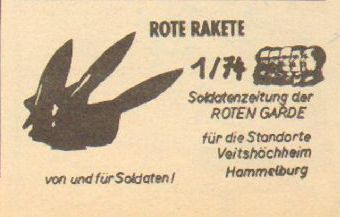 Rote Rakete _ Soldatenzeitung der Roten Garde (1974)