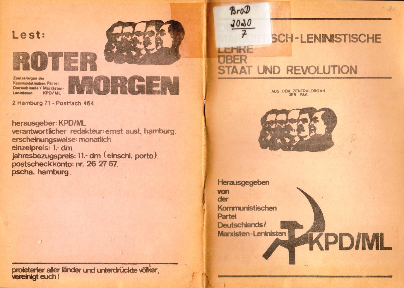 KPDML_1970_Lehre_ueber_Staat_und_Revolution_01