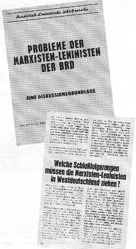 Probleme der Marxisten_Leninisten der BRD. Eine Diskussionsgrundlage [1967]