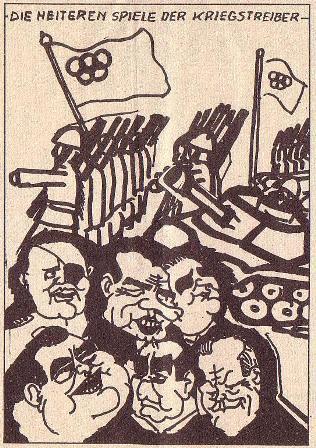 Karikatur aus Roter Morgen, 19/1972, S. 4