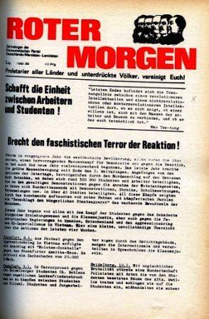 Roter Morgen, 3. Jg., Februar 1969, Titelseite
