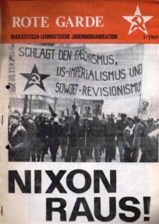 Rote Garde _ Marxistisch_leninistische Jugendorganisation, Nr. 1/1969, Titelseite