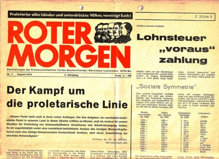 Roter Morgen, 7/1970