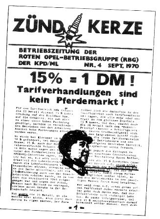 Zündkerze 1970