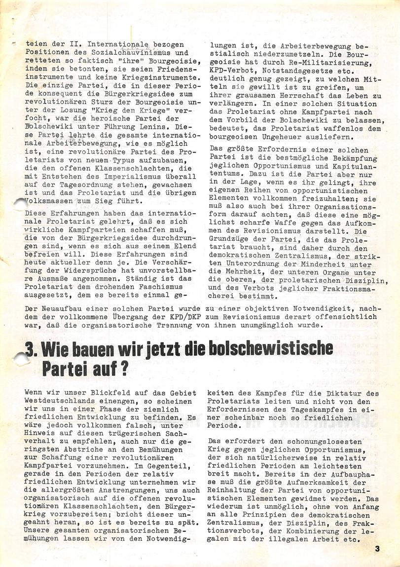 Roter Morgen, 4. Jg., Januar/Februar 1970, Seite 3