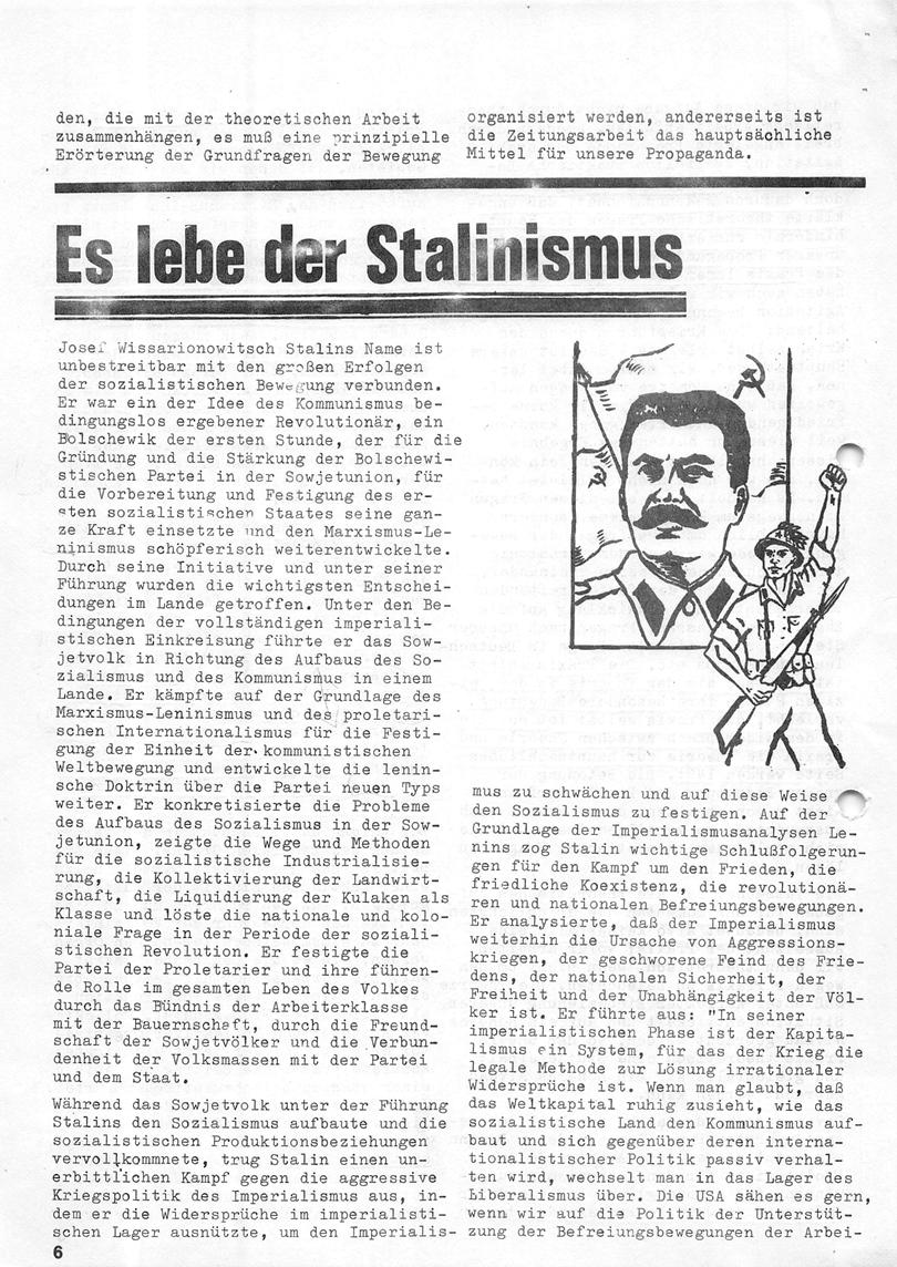 Roter Morgen, 4. Jg., Januar/Februar 1970, Seite 6