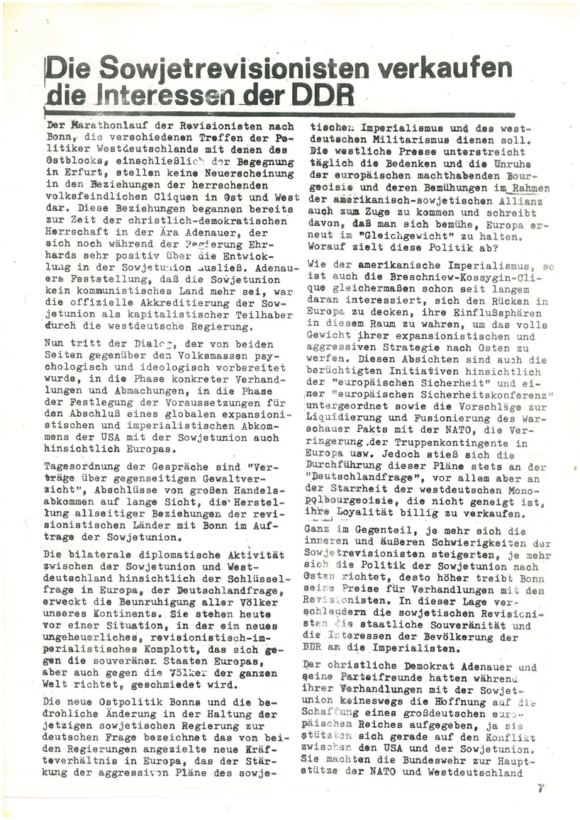 Roter Morgen, 4. Jg., Mai_Ausgabe 1970, Seite 7