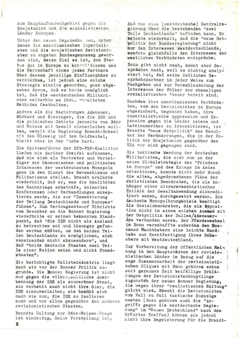 Roter Morgen, 4. Jg., Mai_Ausgabe 1970, Seite 8