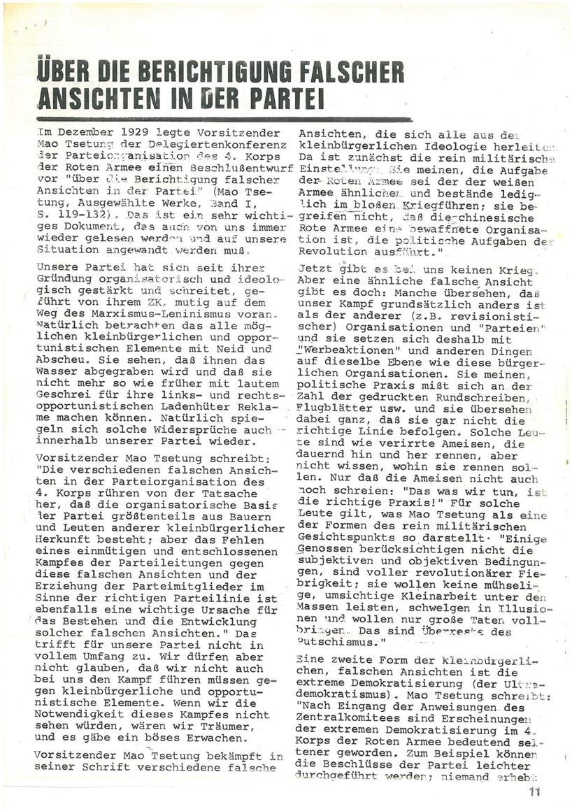 Roter Morgen, 4. Jg., Mai_Ausgabe 1970, Seite 11