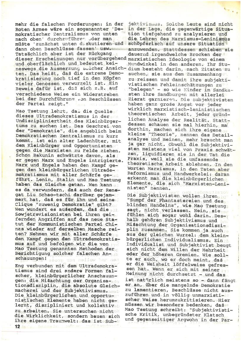 Roter Morgen, 4. Jg., Mai_Ausgabe 1970, Seite 12