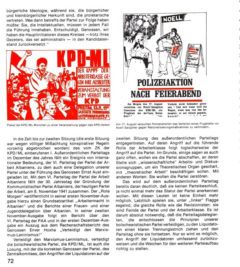 Zehn Jahre KPD/ML, Seite 72