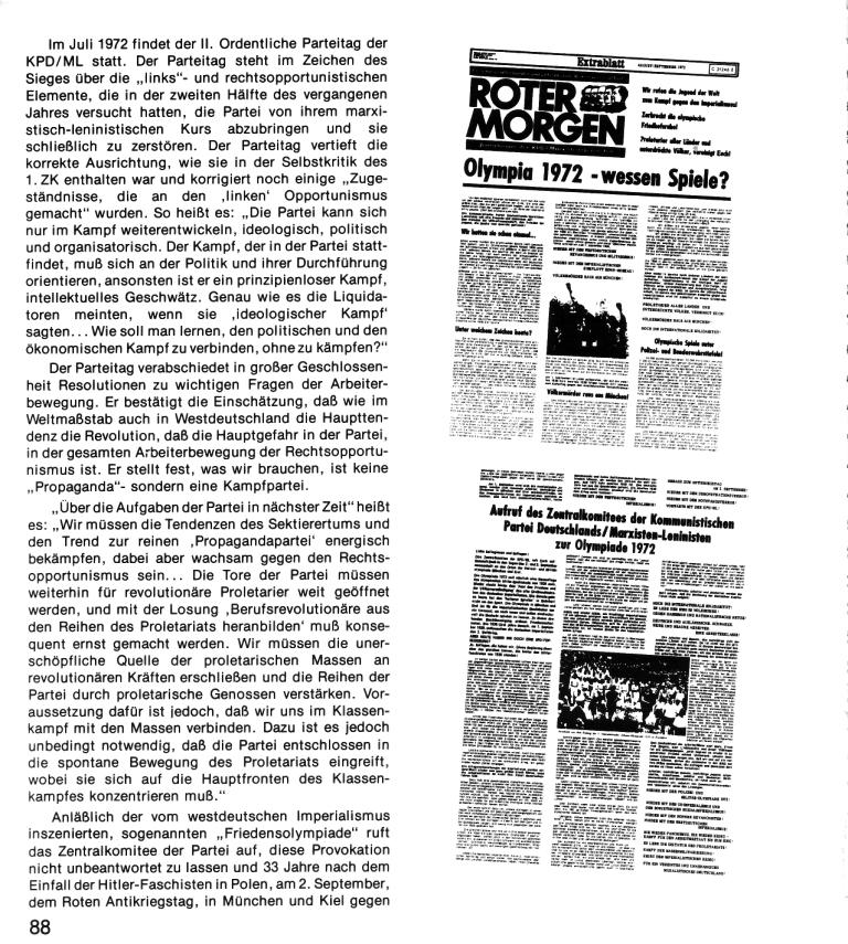 Zehn Jahre KPD/ML, Seite 88